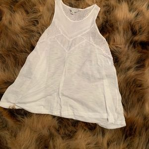 Fun detailed white tank